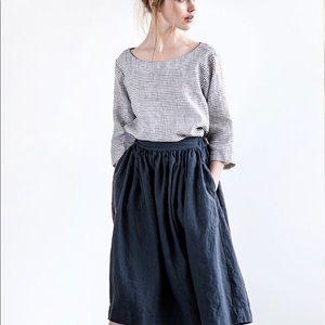 NWOT not PERFECT LINEN skirt